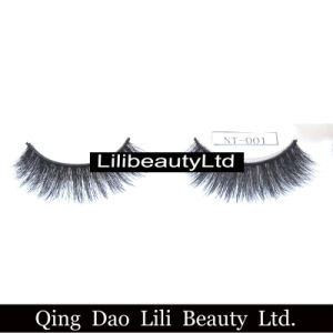 Own Brand Decorative 3D Mink Fur Natural False Eyelash with 5mm to 15mm Length pictures & photos