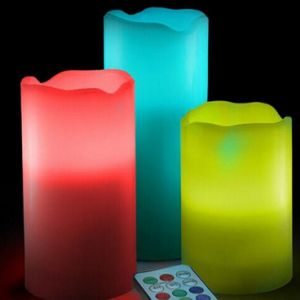 Hot Sale Color Changing Flameless LED Candles pictures & photos