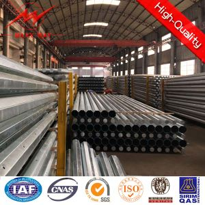 60kv Overhead Transmission Galvanized Steel Pipe pictures & photos