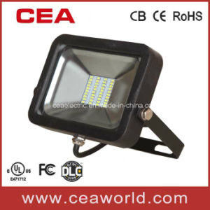 UL cUL Dlc Approved SMD Flood Light with Arm /Bracket pictures & photos