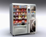 Airport Snack and Drinks Combo Vending Machine LV-X01 pictures & photos