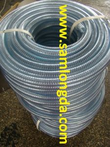 "PVC Spring Steel Wire Hose with High Quality (3/4""-8"") pictures & photos"
