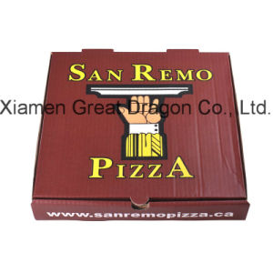 Locking Corners Pizza Box for Stability and Durability (PB160606) pictures & photos