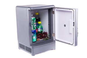 Thermoelectric Mini Fridge 15liter, DC12V, AC100-240V with Cooling and Warming for Car, Office or Home Application pictures & photos