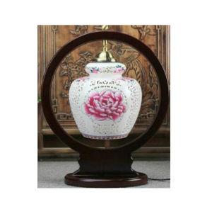 Chinese Porcelain Hand Painted Desk Lamp La-97 pictures & photos