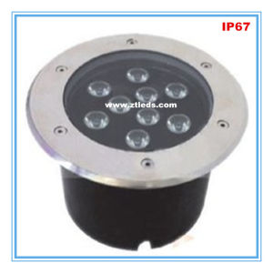 IP67 9W LED Inground Light with Stainless Steel Body pictures & photos