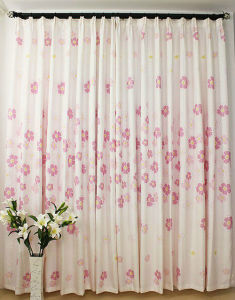 New Design OEM Cotton Shower Curtain pictures & photos