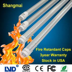 50000h Fire Retardant/Proof Cap G13 2ft/3ft/4ft/5ft/8ft 9W-40W T8 LED Tube