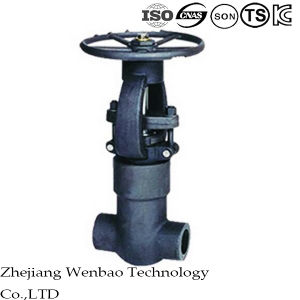 Full Bore Yoke Forged High Pressure Carbon Steel Gate Valve pictures & photos