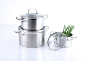 6PCS Stainless Steel Cookware Set pictures & photos