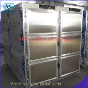 Stainless Steel Morgue Fridge for 6 Body pictures & photos