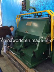 Manual Creasing and Die Cutting Machine pictures & photos