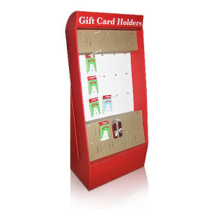 Pop Cardboard Display with 4 Shelves for Garments, PDQ Display, Carton Display pictures & photos