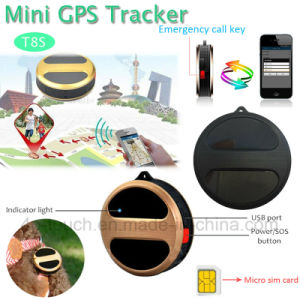 Professional Manufacturer Portable Mini GPS Tracker for Person/Car/Pets T8s pictures & photos