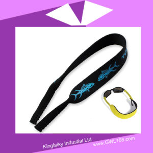 Heat Transfer Printing Sport Sunglasses SBR Strap for Promotion P016-003 pictures & photos