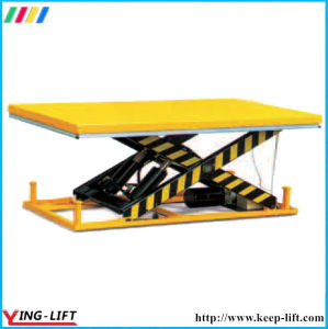 Factory Direct Sale Stationary Electric Lift Table Ylf1001 pictures & photos
