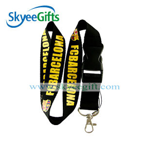 Official Polyester Lanyard with Detachable Buckle pictures & photos