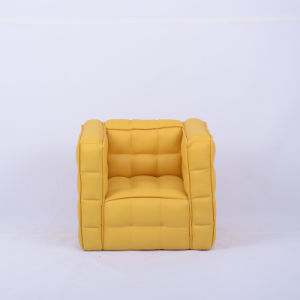 Small Size-High Quality PU Leather Sitting Room Sofas pictures & photos