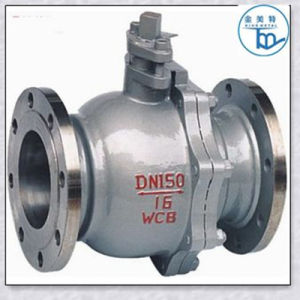 A216 Wcb Flange Type Two Peice Ball Valve. pictures & photos