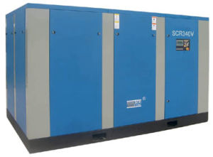 Variable Speed Driven Rotary/Screw Air Compressor (SCR375V Series) pictures & photos