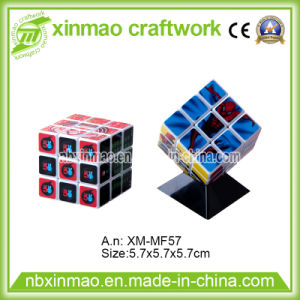 5.7cm Rubik Cube with Black Base for Promo Logo pictures & photos