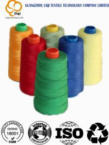 Big Cones & Small Cones Polyester Spun Yarn for Sewing Use pictures & photos