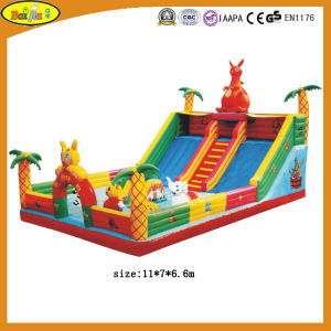 High Quality Outdoor Inflatable Slide Kxb12-007