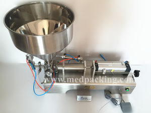Pneumatic Filling Machine for Cream/ Shampoo/ Cosmetic (10-300ml)