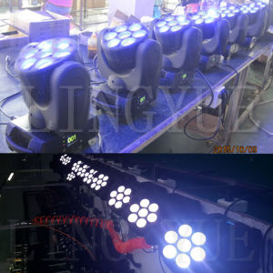 Professional Mini DMX LED Beam 7 12W Moving Head pictures & photos