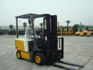 3.5 Ton Electric Forklift Truck with CE Certificate pictures & photos