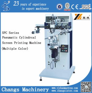 Spc-1000s Pneumatic Cylindrical Conical Screen Printer pictures & photos
