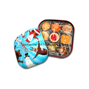 Big Square Metal Cookie Tin Gift Box (S001-V6) pictures & photos