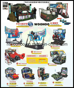 Coin Operated Machine 32′′ Q5 The Intelligent Racing Car Game Simulator Equipment pictures & photos