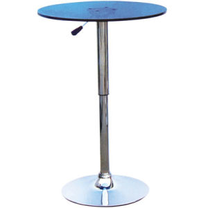 Popular Blue Color Adjustable Height Round Plastic Bar Table (FS-414) pictures & photos
