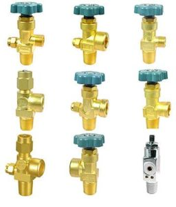 Chromed Brass Cylinder Valves (SERIES) pictures & photos