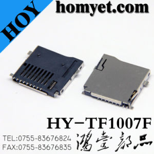 Micro SD Memory T-Flash Card Connector TF Card Connector for Mobile (HY-TF1007F) pictures & photos