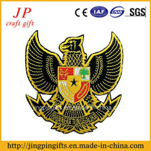 Hand Embroidery High Quality Custom Sheriff Badge Free Design pictures & photos