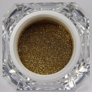 The Golden Glitter Powder on The Pretty Nail Polish pictures & photos