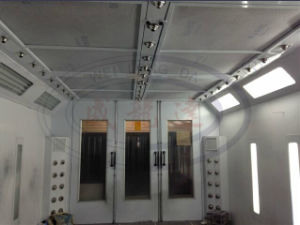 Wld8400 Water Based Paint Spray Booth with CE pictures & photos