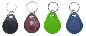 New Product Cheap Waterproof RFID Keyfob Tag /RFID Keychain Tag a/Plastic Keytag pictures & photos