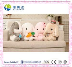 Lovely Loppy Eared Rabbit Plush Toys/Plush Rabbit Pillow pictures & photos