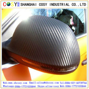 1.52*30m Bubble Free Carbon Fiber Vinyl Sticker Car Wrapping Roll pictures & photos