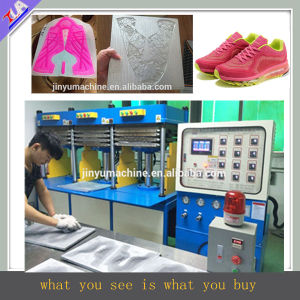 Kpu Shoes Upper/Cover/Vamp Pressing Machine pictures & photos