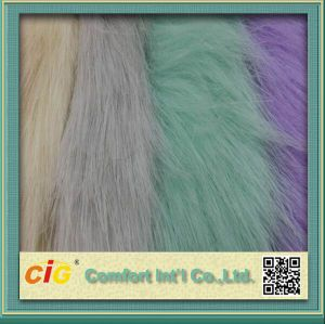 Soft Hand Feeling Long Pile Fake Fur Fabric pictures & photos