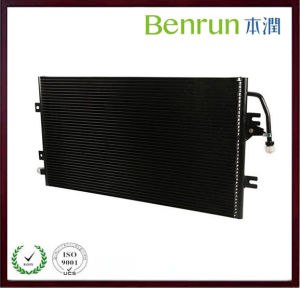 Black Coating Plate Car Condenser for Transportation