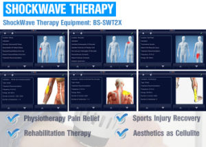 BS-Swt2X Eswt Shockwave Therapy for Plantar Fasciitis pictures & photos