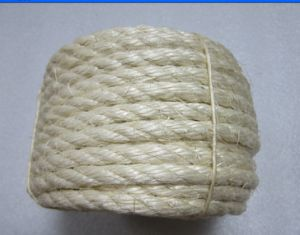 Natural 3 Strands Sisal Rope Yarn Sisal Twine pictures & photos