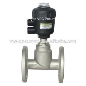 Y-Type Plastic Angle Seat Valve pictures & photos
