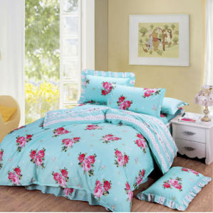 High Quality 100% Cotton Comfortable Printed Bedding Set pictures & photos