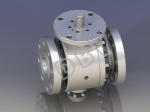 API Electric Forging Stainless Steel Flange Ball Valve pictures & photos